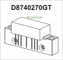 D8740270GT pinout,Pin out