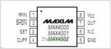 MAX4000 pinout,Pin out