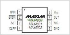 MAX4002 pinout,Pin out