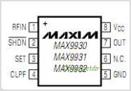 MAX9930 pinout,Pin out