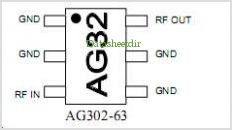 AG302 pinout,Pin out