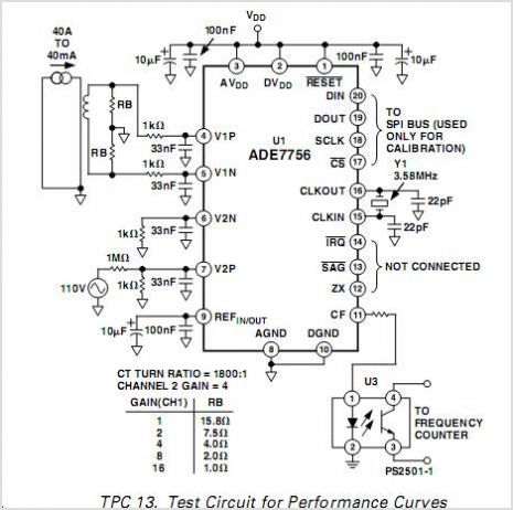 Solved Pic16f877a Ade7753 Connection Diagram