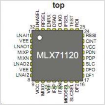 MLX71120 pinout,Pin out