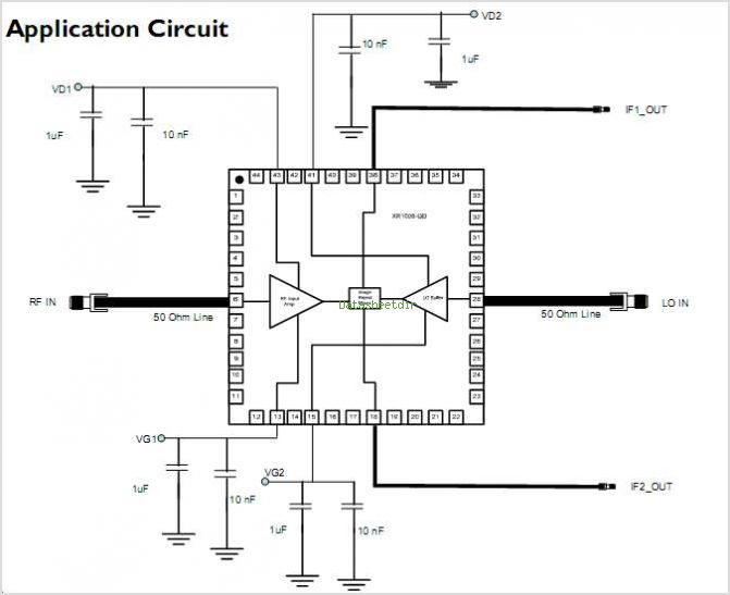 XR1006-QD circuits