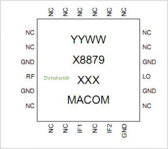 MAMX-008879-PKG003 pinout,Pin out