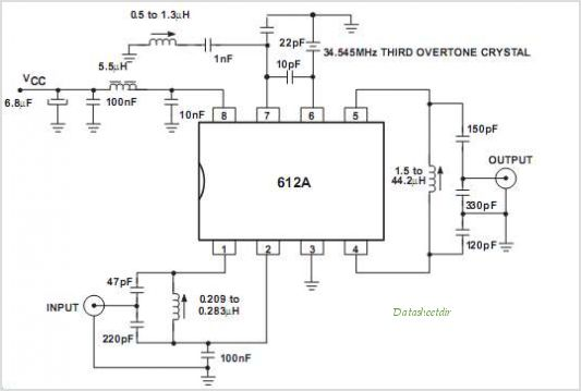 This is one application circuit of SA612A,If you need more circuits