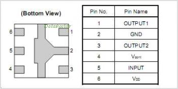 UPG2015TB pinout,Pin out