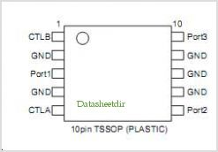 CXG1028ATN pinout,Pin out