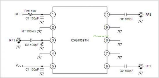 CXG1039TN circuits