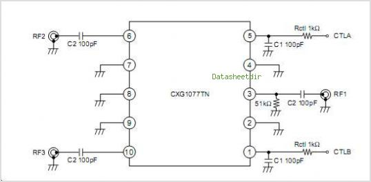 CXG1077TN circuits