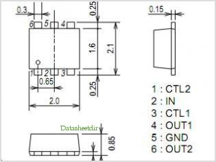 SPM3214 pinout,Pin out