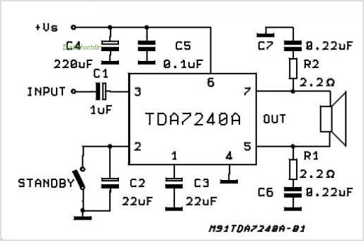 simple limiter for chip amp