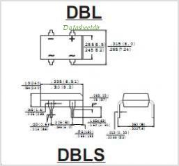 DBLS101G pinout,Pin out