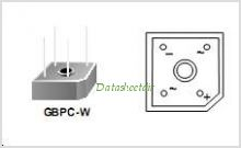 GBPC3510 pinout,Pin out