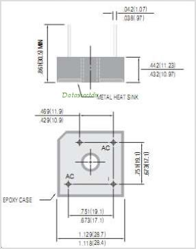 GBPC1506W pinout,Pin out