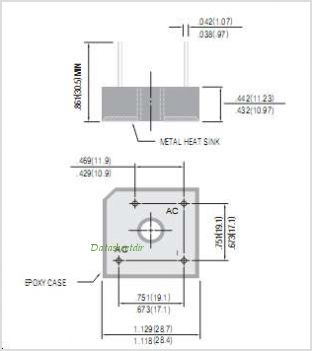 GBPC25005W pinout,Pin out