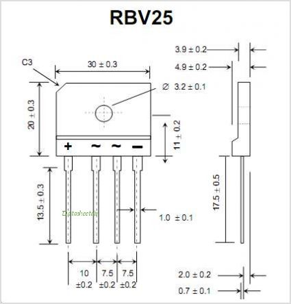 RBV1500 pinout,Pin out