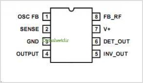 CA3165 pinout,Pin out