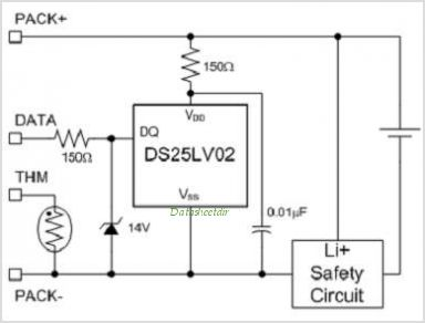 DS25LV02 circuits
