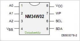 NM34W02 pinout,Pin out