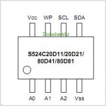 S524C20D11 pinout,Pin out