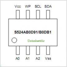 S524LB0X91 pinout,Pin out