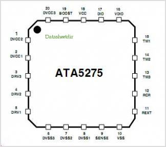 ATA5275 pinout,Pin out