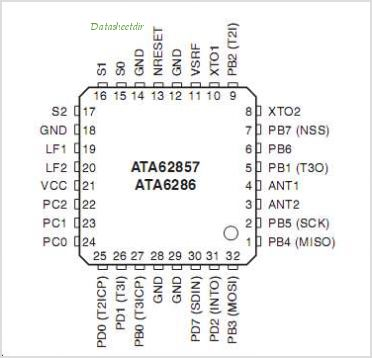 ATA6285 pinout,Pin out