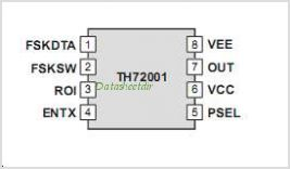 TH72001 pinout,Pin out