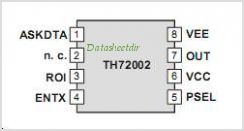 TH72002 pinout,Pin out