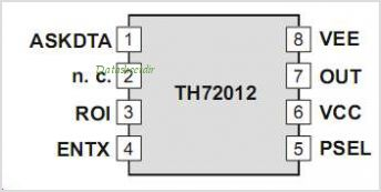 TH72012 pinout,Pin out