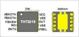 TH72015 pinout,Pin out