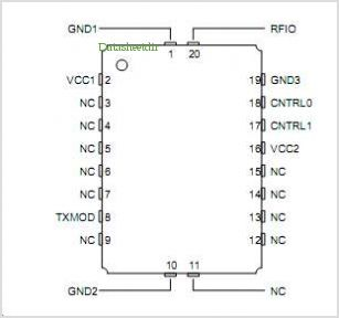 TX6001 pinout,Pin out