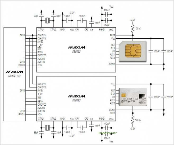 DS8023 circuits