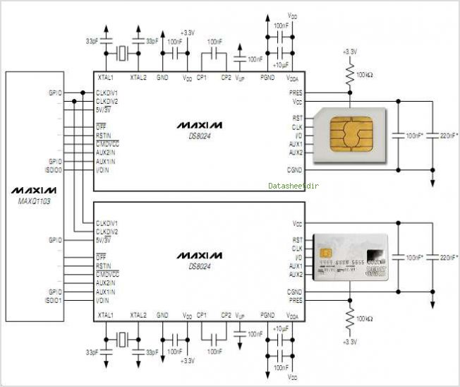 DS8024 circuits