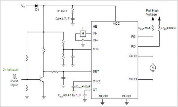 APX9262 circuits
