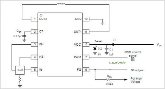 APX9266 circuits