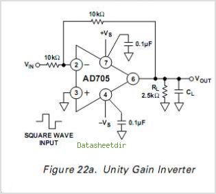 AD705JCHIPS circuits