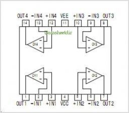 BA3474FV pinout,Pin out