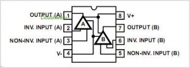 Lm358n Pinout Wiring Diagrams on op amp lm358 datasheet