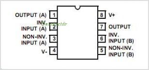 CA3240A pinout,Pin out