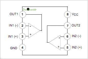 LM258N pinout,Pin out