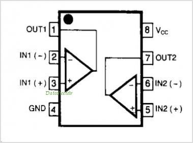 NE5532 Circuit on stereo amplifier diagram