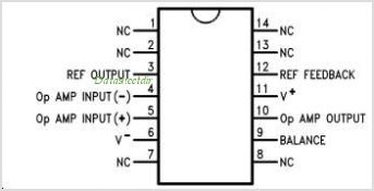 LM10 pinout,Pin out