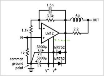 LM12CL circuits