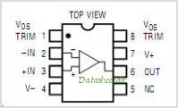 LT1001ACN8 pinout,Pin out