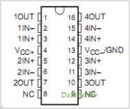 LT1014AMJB pinout,Pin out