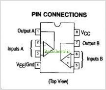 MC3558 pinout,Pin out