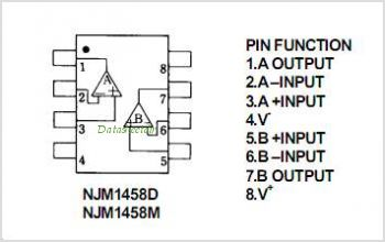 High Speed Op likewise Lm1458 Sawtooth Generator Getting A Unwanted Portamento Effect furthermore OP   1 moreover 4fe91642ad7aa2862c3d50ee5fd2fa56 together with Lm358 Ic Pin Configuration And Applications. on lm1458 datasheet