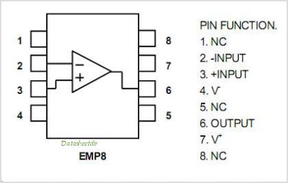 NJM2722 pinout,Pin out